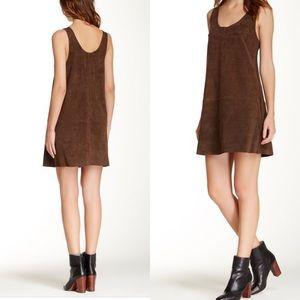"BB Dakota ""Katniss"" Suede Dress"